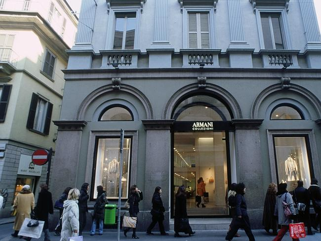 Shopping in Milan's famous fashion district. Pic courtesy Italian Government Tourist Office.