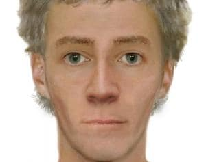 A computer-generated image of a man police believe may be able to assist with enquiries.