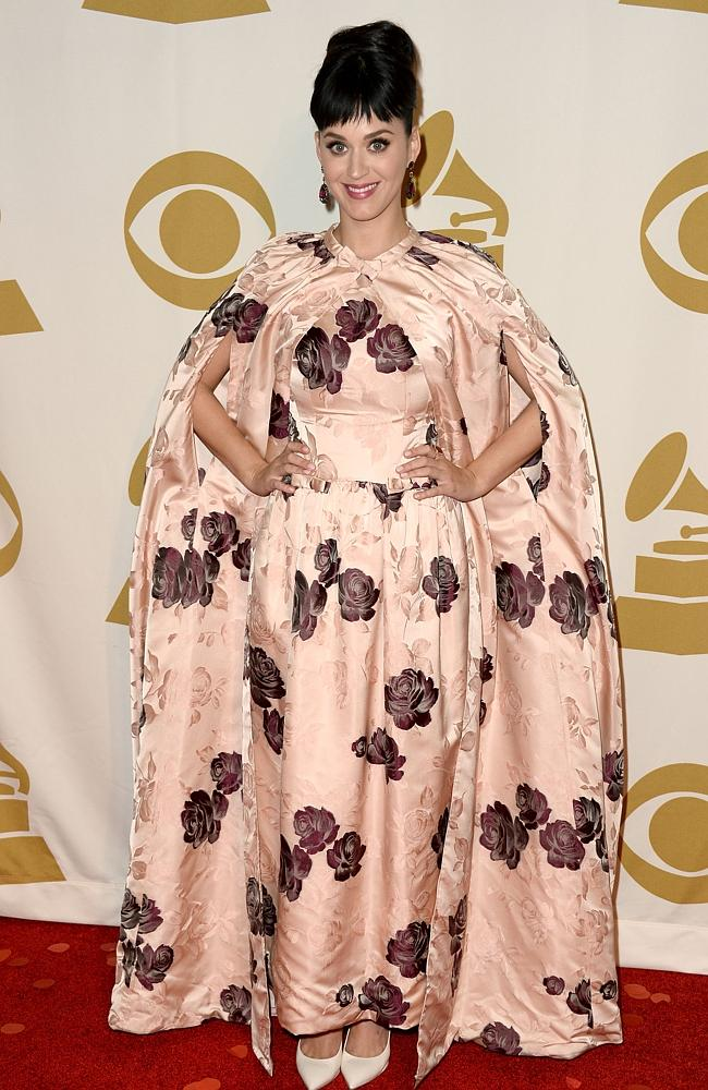 "Katy Perry arrives on the red carpet at ""The Night That Changed America: A GRAMMY Salute To The Beatles"". Picture: Getty"