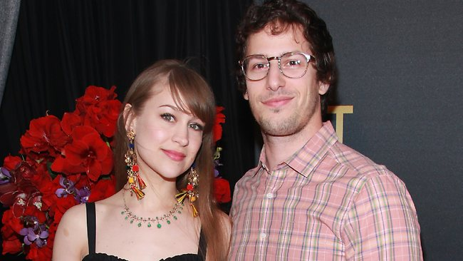 Actor Andy Samberg has wed musician Joanna Newsomat a ceremony in California. Picture: Taylor Hill/Getty Images