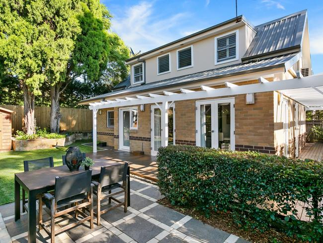 A three bedroom townhouse in Gladesville.