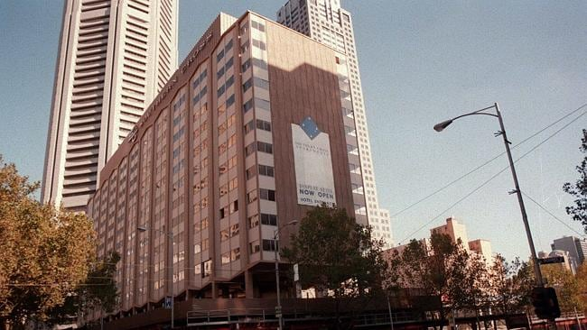 1996: The Southern Cross Hotel before it was demolished. Picture: Supplied