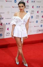Charli XCX arrives on the red carpet for the 30th Annual ARIA Awards 2016 at The Star on November 23, 2016 in Sydney, Australia. Picture: Jonathan Ng