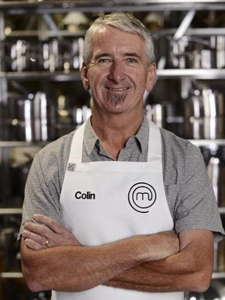 Gone but proud ... MasterChef contestant Colin Sheppard.