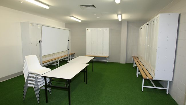 Skilled Parkdressing room. Picture: Ross Michael