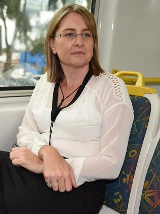 Public Transport Minister Jacinta Allan said Labor ordered new carriages for V/Line. Picture: Chris Eastman