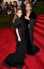 """Mary Kate and Ashley Olsen attend the Met Gala 2015 """"China: Through The Looking Glass"""". Picture: Getty"""