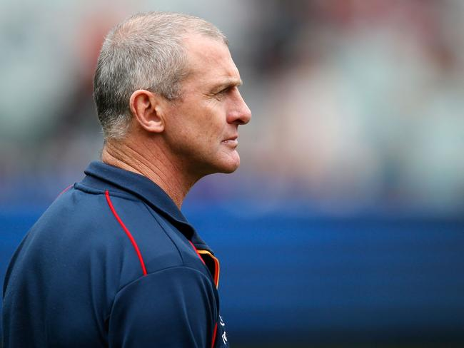 Phil Walsh, former senior coach of the Crows, in June 2015.