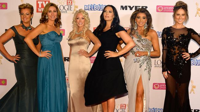 Real Housewives of Melbourne at the 56th TV Week Logie Awards 2014 held at Crown Casino