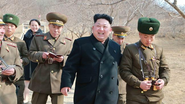 Yo-Jong has played a key role in cultivating her brother's image. Picture: KCNA/AFP