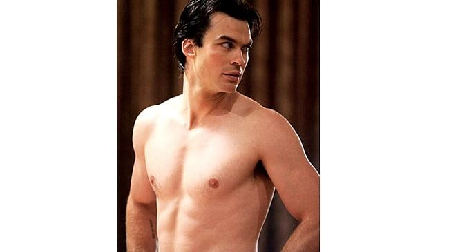 Ian Somerhalder, of Vampire Diaries, is a strong contender. Picture: Supplied