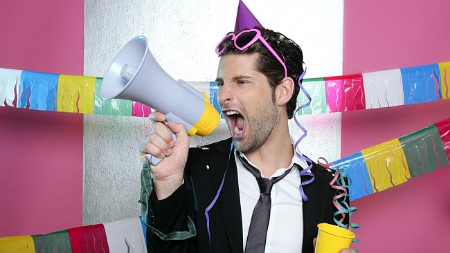 Until suddenly you think a megaphone is a great idea ... Picture: Thinkstock.