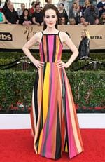 Michelle Dockery attends The 23rd Annual Screen Actors Guild Awards at The Shrine Auditorium on January 29, 2017 in Los Angeles, California. Picture: Getty