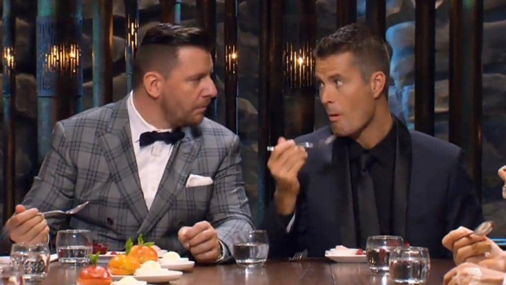 My Kitchen Rules will return to Channel Seven in 2017 with Pete Evans (right) as one of their celebrity judges. (Pic: News Corp Australia)