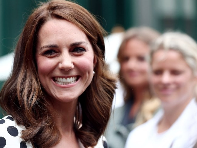 Kate, minus three inches. Image: Gareth Fuller/WPA/Getty