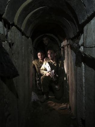 Hamas' web of tunnels is taking center stage in the relentless conflict between the militant group and Israel. Picture: Tsafrir Abayov