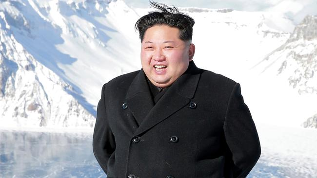 Kim Jong-un and other officials should be tried for crimes against humanity, the report says. Picture: AFP/KCNA