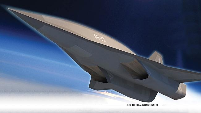 At 5800km/h, the US Air Force hopes those they wish to spy on will have no time to react.
