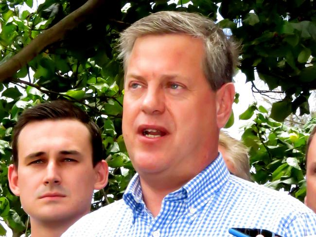 LNP leader Tim Nicholls has finally given in. Picture: Andrew Potts