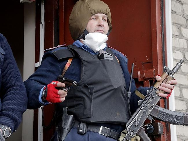 Pro-Russians storm police station