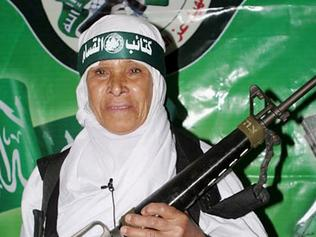 Fighting for the cause ... suicide bomber Fatima Omar Mahmud al-Najar, a 57-year-old grandmother, blew herself up in 2006.