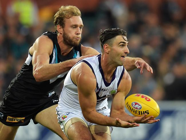 Shane Kersten has struggled in his first two games at Fremantle.