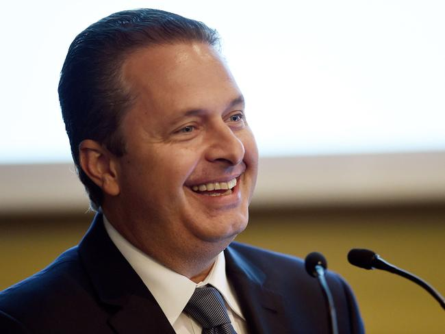 Killed ... Pernambuco state governor Eduardo Campos, candidate of the Brazilian Socialist Party (PSB) for next October's presidential election, has died in a plane crash in south-eastern Brazil.