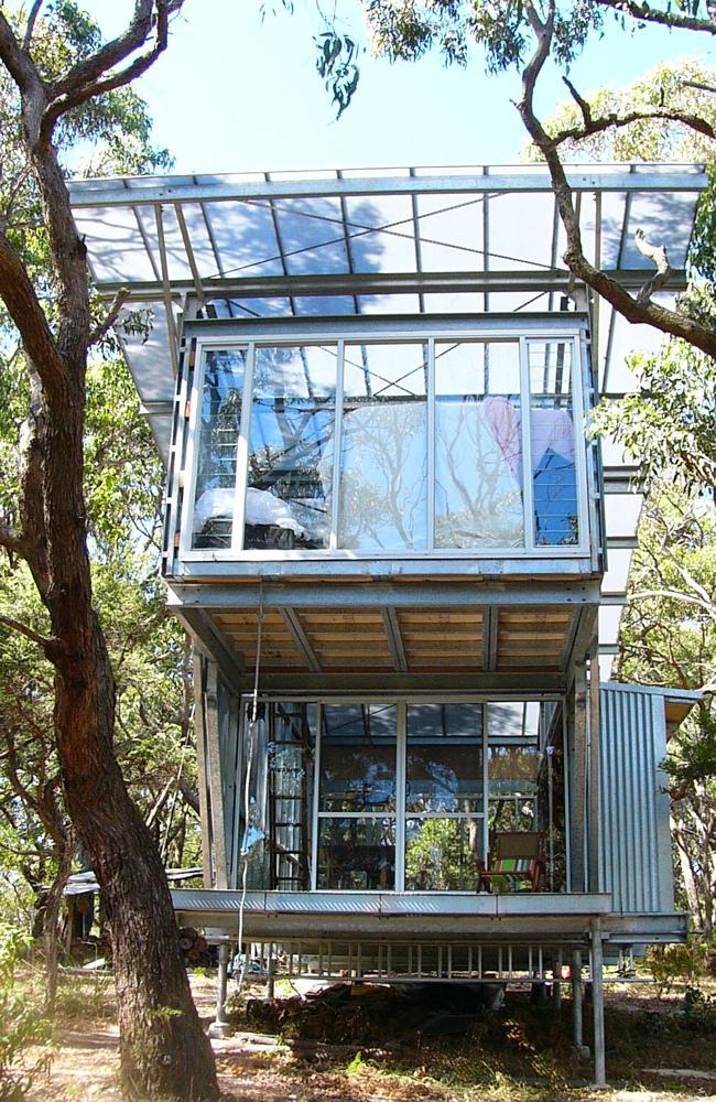 A Troppo Architects-designed house at Cape Otway in Victoria.
