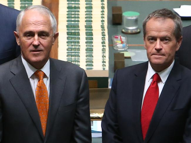 Still a winner ... Voters still overwhelmingly considerMalcolm Turnbull better than Bill Shorten to manage the economy Picture: Kym Smith