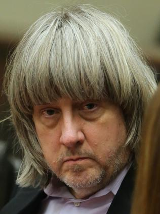 David Allen Turpin appears in court. Picture: Terry Pierson/The Press-Enterprise/AP