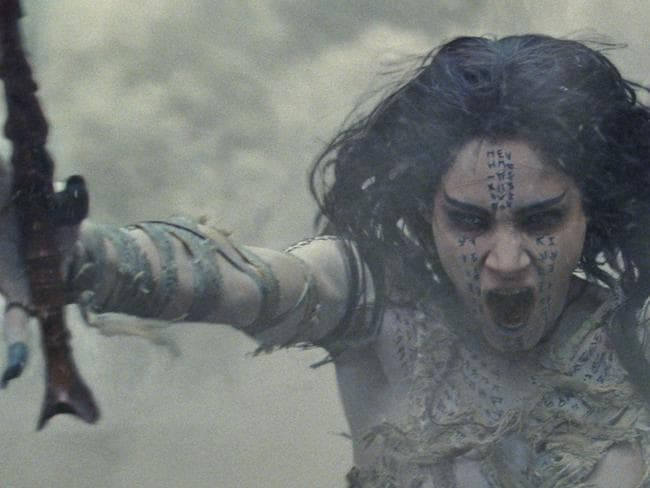 Sofia Boutella plays The Mummy in the Universal reboot.