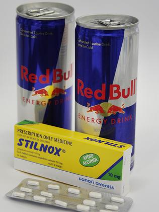 Energy Drink And Ambien