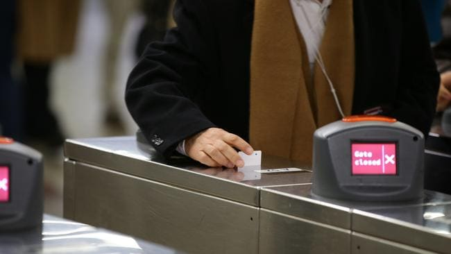 Paper tickets are being phased out in many cities, pushing people onto smartcards. Picture: supplied.