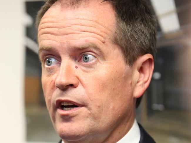 "Maintaining the pressure ... Federal Opposition Leader Bill Shorten says the Medicare co-payment is still a ""tax on going to the doctor"". Picture: Stephen Laffer"