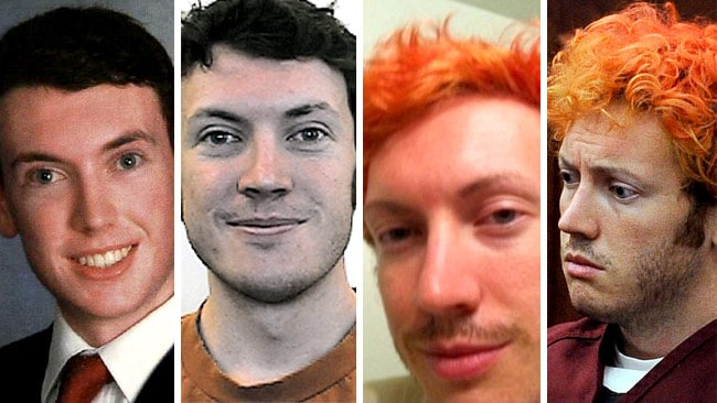 How James Holmes has changed