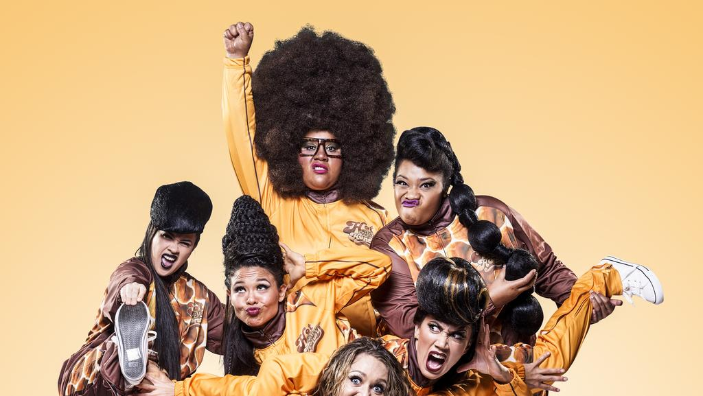Hot Brown Honey are appearing at Fairfax Studio, the Arts Centre. Starts Tue until Dec 11. Tue-Thu, 7.30pm. Fri-Sat 7.30pm and 10.30pm, Sun, 7.30pm. artscentremelbourne.com.au