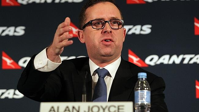 Under fire ... Qantas Group Chief Executive Officer Alan Joyce. Pic:- James Croucher