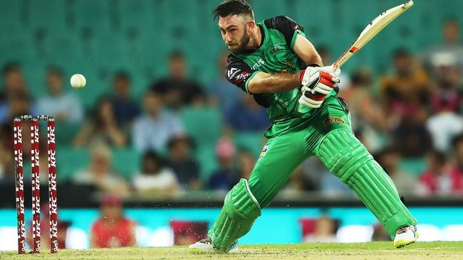 Glenn Maxwell was in scintillating form at the SCG.