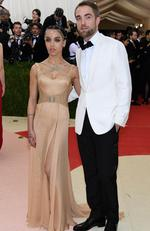 "FKA Twigs and Robert Pattinson attend the ""Manus x Machina: Fashion In An Age Of Technology"" Costume Institute Gala at Metropolitan Museum of Art on May 2, 2016 in New York City. Picture: Larry Busacca/Getty Images/AFP"
