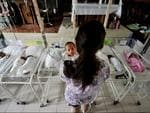 Life goes on in the Philippines as babies enter the world post-Typhoon Haiyan. Picture: Supplied