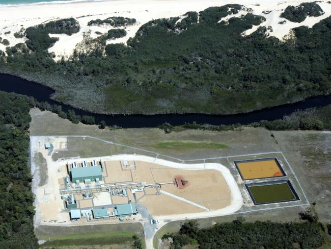 The Santos owned Patricia-Baleen Gas Plant located on the Snowy River Flood Plains. The gas is separated, compressed and dehydrated before being transported to the Eastern Gas Pipeline.