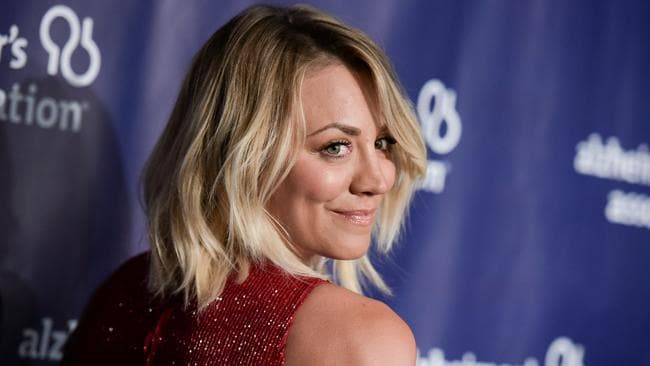 Kaley Cuoco is a single gal these days.