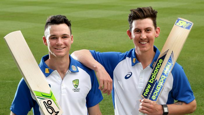 Debutants Peter Handscomb and Nic Maddinson are both expected to make their Test debuts.
