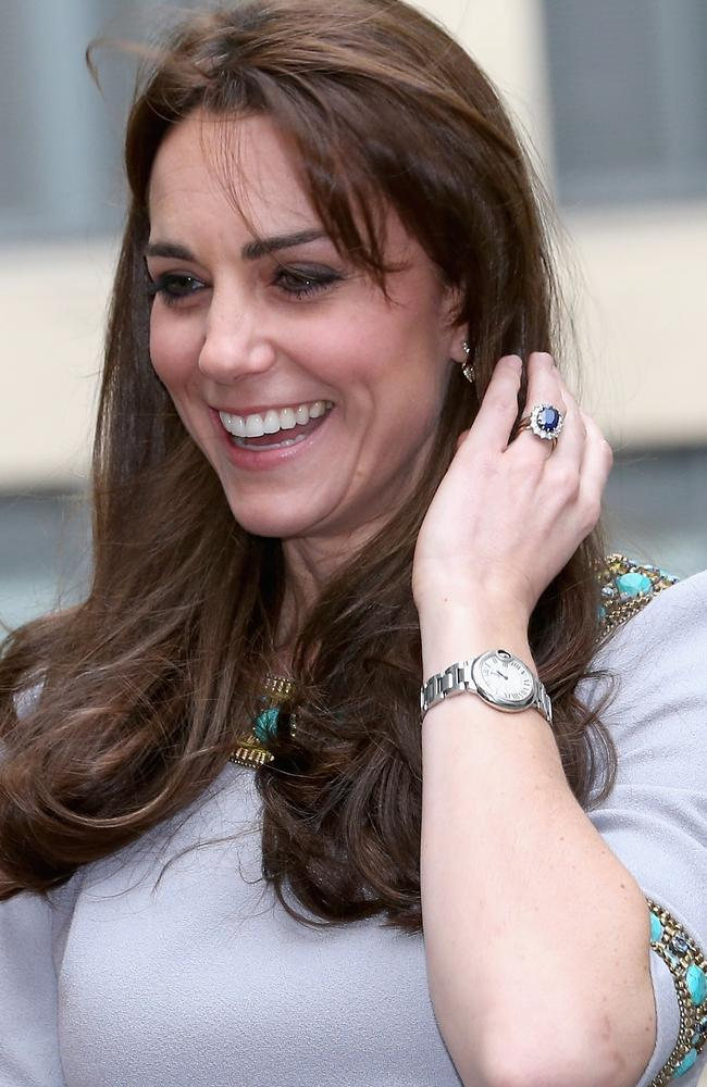 Catherine, Duchess of Cambridge wore the watch at a charity event back in 2015. Picture: Chris Jackson/Getty Images