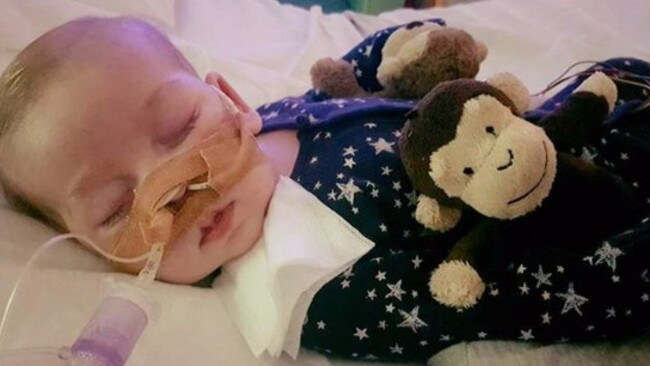 A judge has decided Charlie Gard's life support can be switched off. Picture: GoFundMe