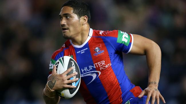 Sione Mata'utia has a suspected broken jaw.