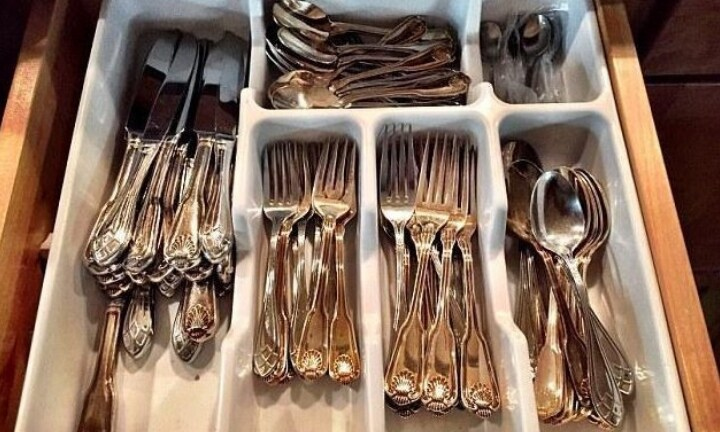 Simple question sparks debate over how to arrange your knives and forks