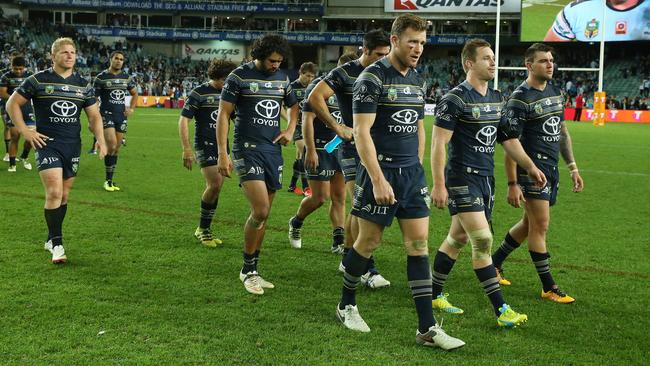 The Cowboys' title defence is over after the Sharks defeat.
