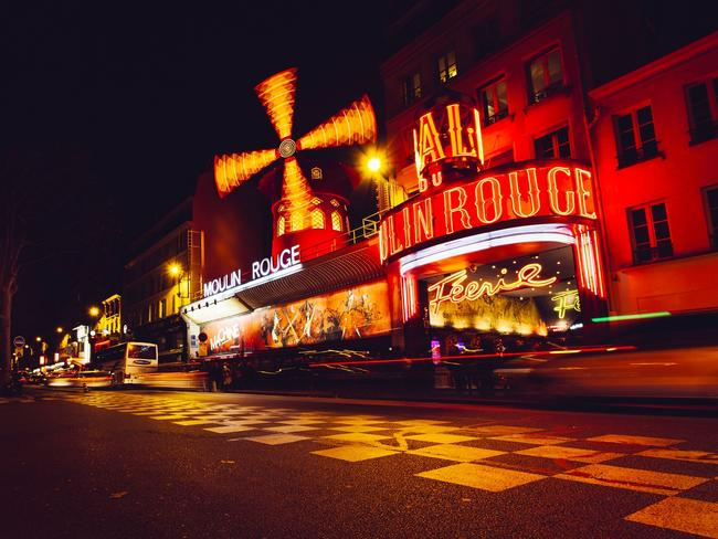 The world famous Moulin Rouge is the Paris district of Pigalle, near Montmartre. Picture: iStock