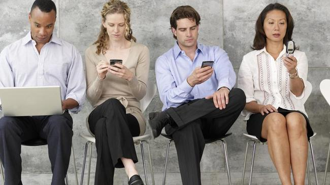 Take a break ... Psychologist Louise Adams urges people to have a social media detox.